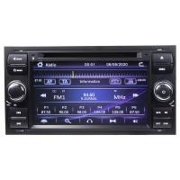 """Autorádio pro Ford 2005-2012 s 7"""" LCD, GPS, ČESKÉ MENU"""