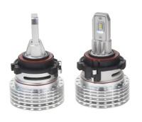 LED H7 do světlometů VW Golf VI, Golf VII, Jetta, Passat, Tiguan - 4000Lumen, bílá