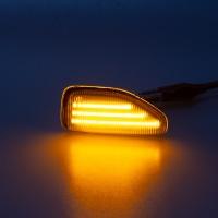 Boční LED blinkry s funkcí dynamického běhu Dacia Sandero II -- od roku výroby 10/2012-
