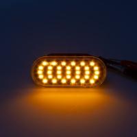 Boční LED blinkry s funkcí dynamického běhu VW Vento -- rok výroby 11/1991-09/1998