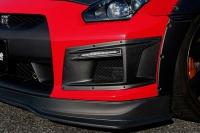 Chargespeed přívod vzduchu do předního nárazníku s denním svícením Nissan GT-R R35 -- rok výroby 2007-10
