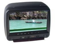 "Monitor 9"" v opěrce hlavy DVD/SD/USB"