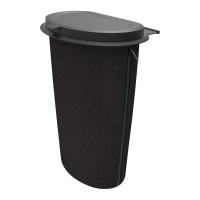 Koš na odpadky Flextrash do auta 9L - černý (montáž na sedadlo nebo palubní desku)