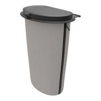 Koš na odpadky Flextrash do auta 9L - šedý (montáž na sedadlo nebo palubní desku)