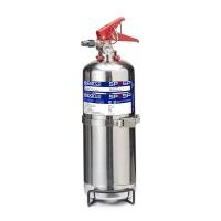 Ruční hasicí přístroj Sparco Performance - 2 litry - chrom - průměr 21cm x 44cm