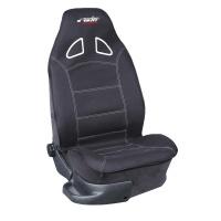 Simoni Racing potah na přední sedadlo Pilot - černý, imitace závodního sedadla - kus