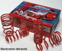 Autostyle snížené sportovní pružiny Dacia LOGAN 1.5 / 1.6 / 1.5DCi -- od roku výroby 2005- (snížení přední nápravy 40mm, zadní nápravy 40mm)