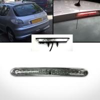 Brzdové světlo Peugeot 206 čiré 14xLED (s integrovaným ostřikovačem)