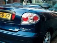 Zadní světla (lampy) Renault Megane Coupe --rok výroby 96- ** chromové