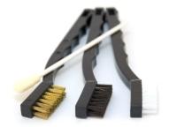 Cobra Detailing Brush Kit - sada detailingových kartáčů a tyčinky, 4 ks