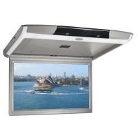 """Stropní LCD monitor 17,3"""" s OS. Android USB/SD/HDMI/FM, dálkové ovládání se snímačem pohybu, šedý"""