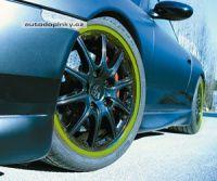 Barevné proužky na kola Foliatec 6mm - barva zelená power