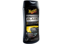 Meguiar's Ultimate Black Plastic Restorer - oživovač a ochrana nelakovaných plastů v exteriéru i interiéru, 355 ml