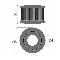 Sportovní filtr Green MERCEDES A CLASSE (W168) 160 výkon 75kW (102hp) typ motoru M 166 960 rok výroby 97-