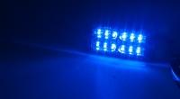 LINEAR LED dual 12x5W LED, 12-24V, modrý, ECE R65