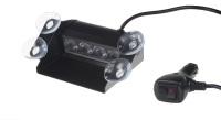 PREDATOR LED vnitřní, 4x3W, 12-24V, oranžový, 146mm, CE
