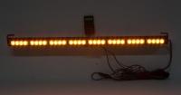 LED světelná alej, 32x 3W LED, oranžová s displejem 910mm, R10 R65