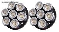 LED modulární světlomety pro denní svícení (homologované) 7LED - automatické zapínání
