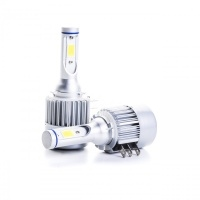 COB LED H15 bílá 6000K, 9-16V