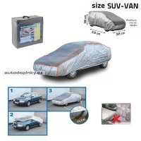 Ochranná plachta proti kroupám velikost SUV-VAN 530×205×160cm
