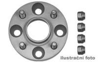 HR podložky pod kola (1pár) SUBARU Justy rozteč 100mm 4 otvory stř.náboj 59,1mm -šířka 1podložky 25mm /sada obsahuje montážní materiál (šrouby, matice)
