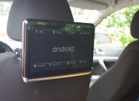"LCD monitor 10,1"" OS Android/DVD/USB/SD s držákem na opěrku"