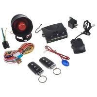 CAR autoalarm s dálkovým ovládáním a plovoucím kódem