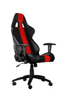 Kancelářská židle C-TECH PHOBOS, barva černo-červená