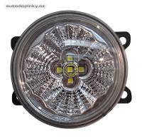 LED kulaté světlomety pro denní svícení (homologované) 4LED průměr 90mm (náhrada za Valeo mlhovky)