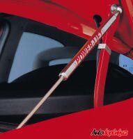 Chromové tuningové plynové vzpěry na přední kapotu VW Golf V