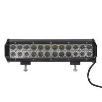 LED světlo 10-30V, 24x3W, rozptýlený + bodový paprsek, 300x80x65mm