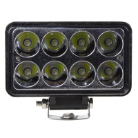 LED světlo obdélníkové, 8x3W, ECE R10