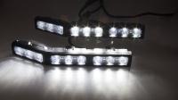 LED 18x3W rampa - pracovní světlo, 9-32V, 590mm, určeno pro montáž nad přední SPZ